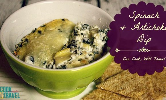 Spinach Artichoke Dip = A Light, Delicious Dip!
