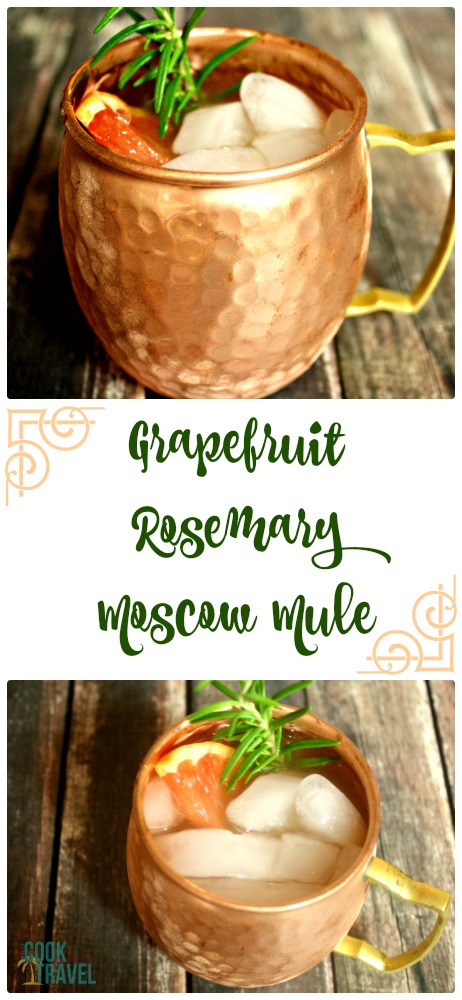 Grapefruit Rosemary Moscow Mule