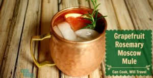 Grapefruit Rosemary Moscow Mule – Yep, That Happened!