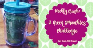 Weekly Crush: Crushing on Green Smoothies