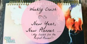 Weekly Crush: New Year, New Planner