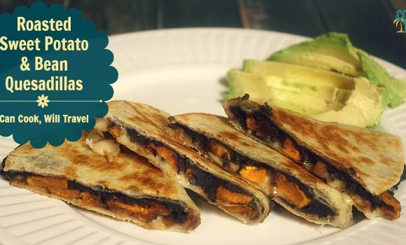 Roasted Sweet Potato and Bean Quesadillas – Why Hello!