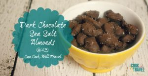 Dark Chocolate Sea Salt Almonds Make Healthy Snacking a Breeze!