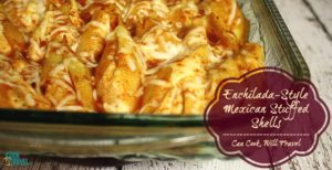 Enchilada-Style Mexican Stuffed Shells