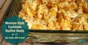 Mexican Style Stuffed Shells Are Mmm, Mmm Good!
