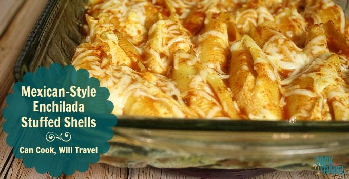 Mexican Style Stuffed Shells