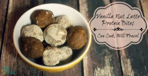 Vanilla Nut Latte Protein Bites Make Snacking Delish!