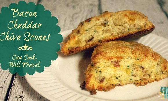 Bacon Cheddar Chive Scones Just Make Life Better