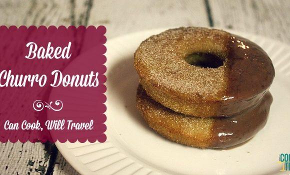 Baked Churro Donuts