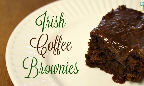 Irish Coffee Brownies
