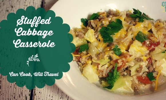 One Pot Stuffed Cabbage Casserole