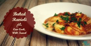Baked Ravioli is Amazingly Easy & Delightful!