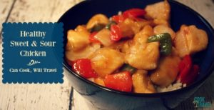 Healthy Sweet and Sour Chicken is Fab!