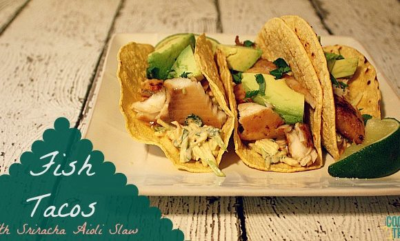 Channeling Shark Week with Fish Tacos!