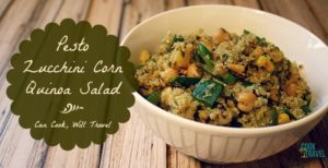 Learning to ❤️ Salads – Pt 20: Pesto Quinoa Salad