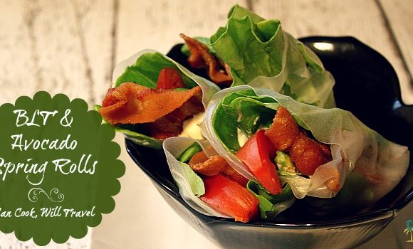 BLT Avocado Summer Rolls