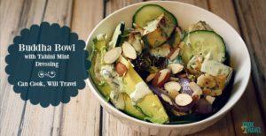 Roasted Veggie Buddha Bowl with Quinoa