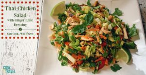Learning to ❤️ Salads – Pt 21: Thai Chicken Salad