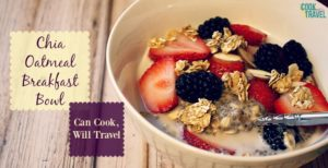 Chia Oatmeal Breakfast Bowl, Hello Breakfast!