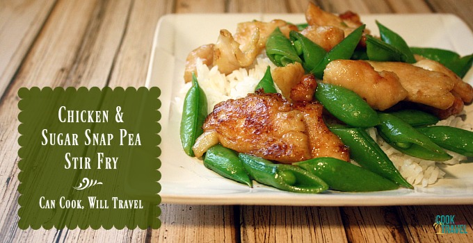 Sugar Snap Pea Chicken Stir Fry