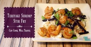 Teriyaki Shrimp is Simply Delicious!