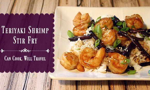 Teriyaki Shrimp is Simply Delicious!