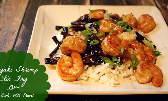 30 Minute Teriyaki Shrimp Stir Fry