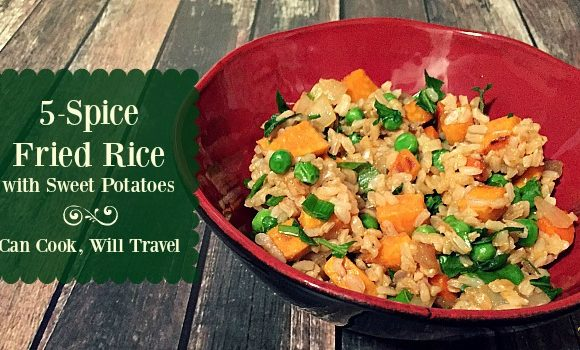Healthy 5-Spice Fried Rice