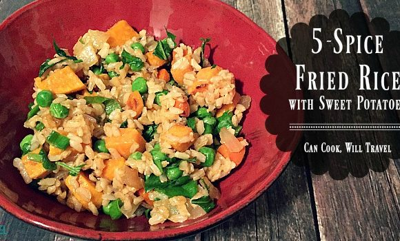 5-Spice Fried Rice with Sweet Potatoes is Lovely!