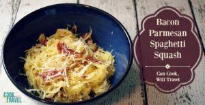 Parmesan Bacon Spaghetti Squash