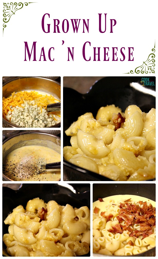 Grown Up Mac 'n Cheese