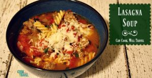 Lasagna Soup Is Pretty Much the Coolest Soup!