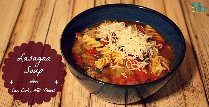 Lasagna Style Soup