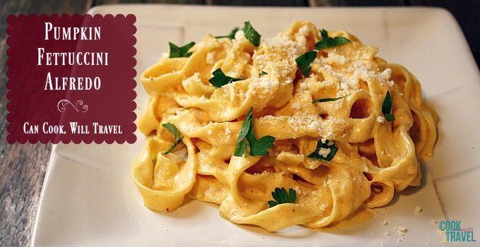 Pumpkin Alfredo = What is Right With the World - Can Cook, Will Travel