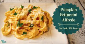 Pumpkin Fettuccini Alfredo