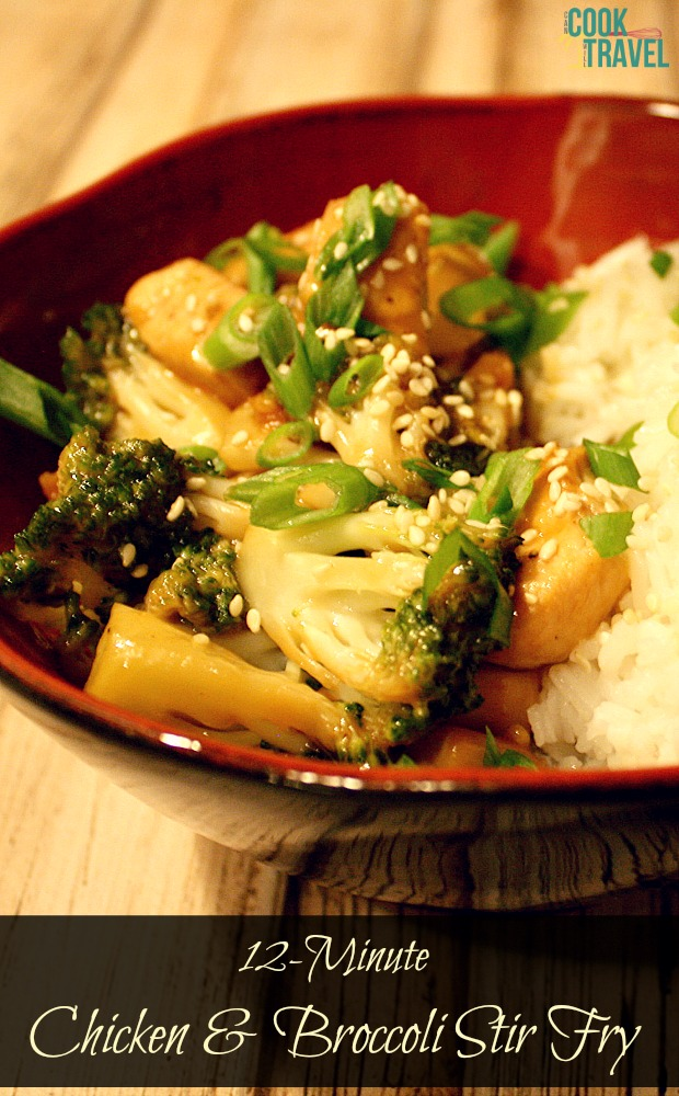 12 Minute Chicken & Broccoli