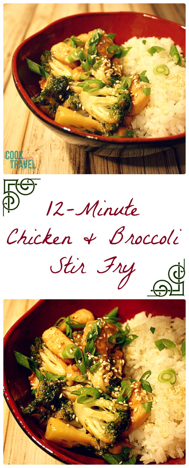 12 Minute Chicken & Broccoli