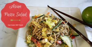 Learning to Love Salad – Part 20: Asian Pasta Salad