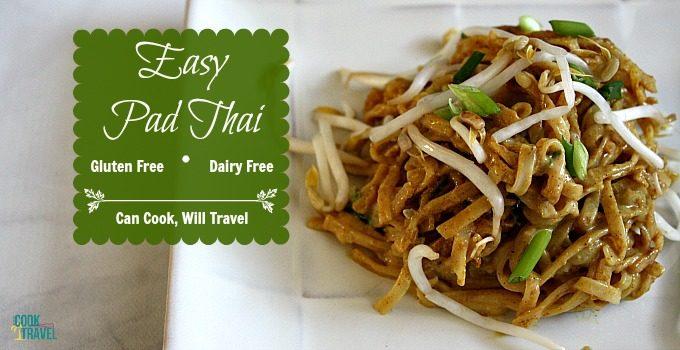 Dairy Free Pad Thai