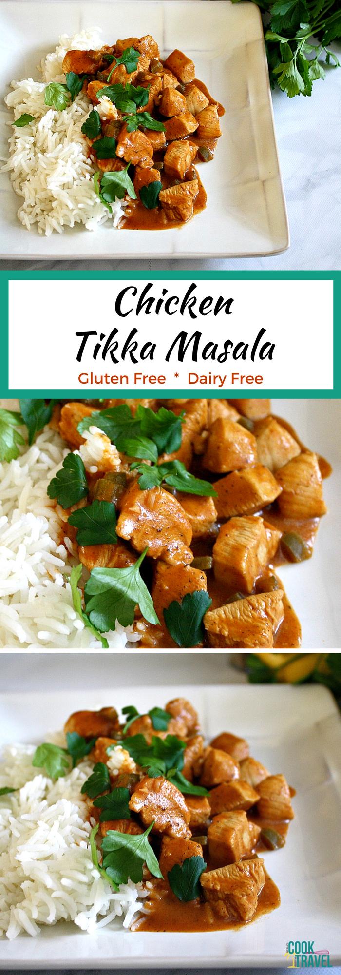 Dairy Free Chicken Tikka Masala