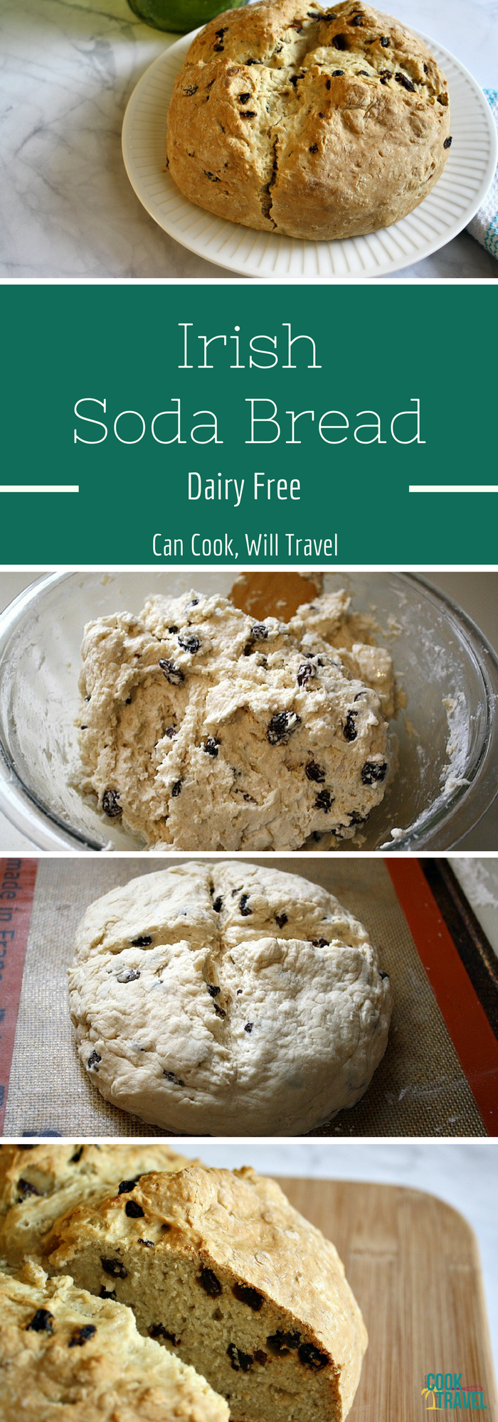 Dairy Free Irish Soda Bread