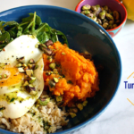 Turmeric Sweet Potato Bowl