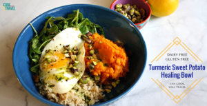 Turmeric Sweet Potato Bowl = My Happy Place!