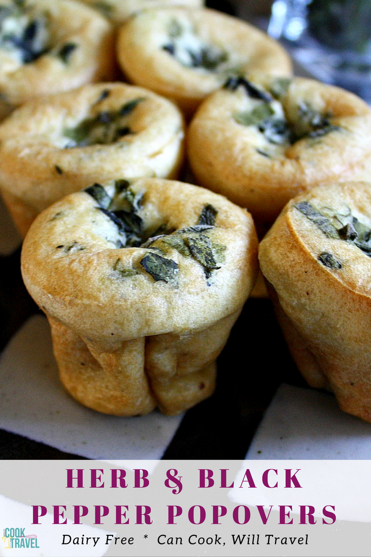 Herb Filled Popovers
