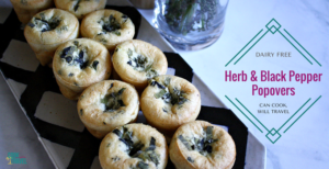 Herb Filled Popovers Are Oh-So-Good!