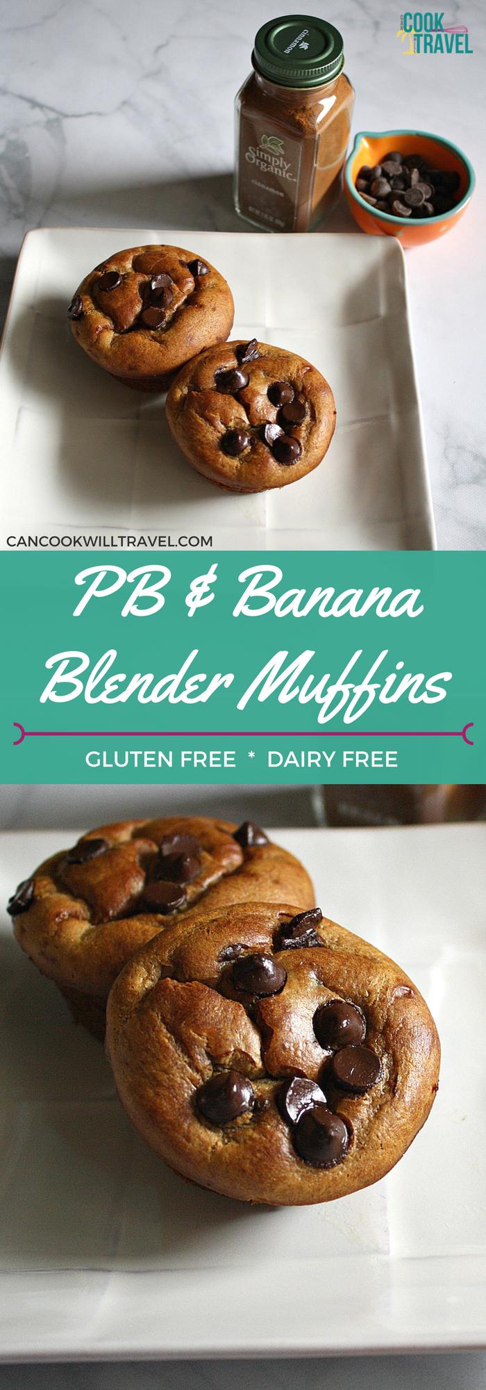 Easy Blender Muffins