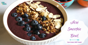 Healthy Acai Smoothie Bowl