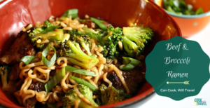 The Ultimate Broccoli Beef Ramen