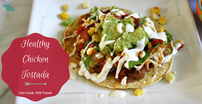 Mexican Chicken Tostada