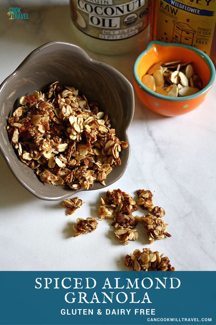 Spiced Almond Granola